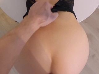 I Fucked My Girlfriend's Hot stepcousin On The Table After Shower - TEASER