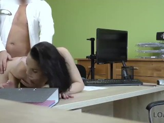 LOAN4K. Girl passes anal casting well and finally gets a credit