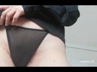 Enticing You with My Hairy Pussy and Ass