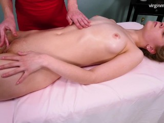 Very orgasmic massage of Irka Davalka