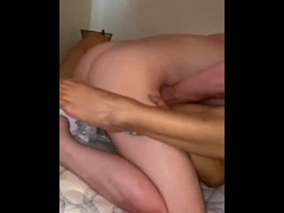 Sexy Latina gets her fav American Dick He loves playing with her pussy