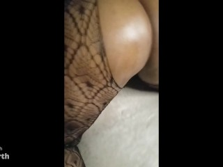 Sexy Slut Gets Her ASS OILED Up, While PANTIES CUT OFF!