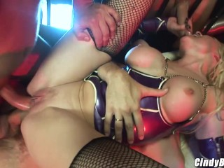 6 dirty boys fill all of my holes up making me airtight | Cindy Behr