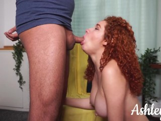 Please Cum Inside Me! He Couldn't Hold It - Ashley Ve
