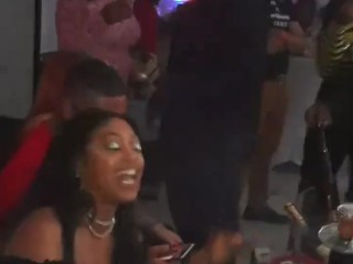 "Rapper Trina ""Out"" at Night Club Fort Lauderdale with Sexy Young Stripper"