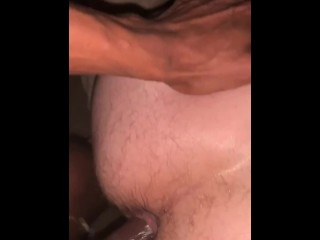 Straight white Bubble booty wants COCK