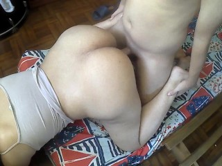 PAWG MOM LOVES being FUCKED by her STEPSON