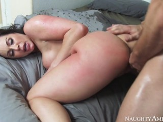 Naughty America - Kendra Lust has noticed that her sofucking in the bedroom