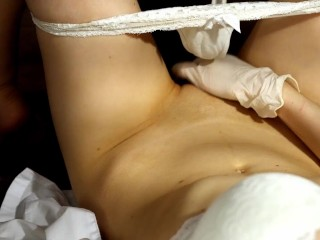 Kira Loster sexy nurse masturbating with dirty talks asmr