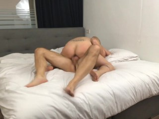 Tiny girls pussy gets destroyed by big Italian cock