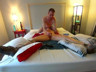 Blurring The Lines! (PART 2) - Tied & Ticklish Gwen Cums her Brains Out! HD PREVIEW