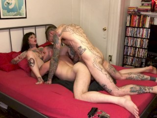 My FIRST Bisexual Threesome with Two Guys MMF