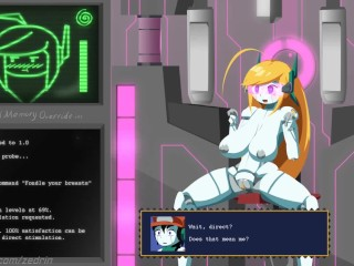 Curly Bace: Hacked 2 - Robot Girl Hentai