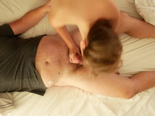 Cozy morning sex leads to hard riding (See more on my OnlyFans!)