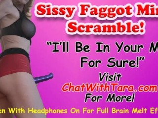 Sissy Faggot Mind Scramble Enhanced Erotic Audio by Tara Smith Femdom Submissive Male Training