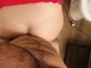 POV pounding Artemisia Love ass and pulling her long hair