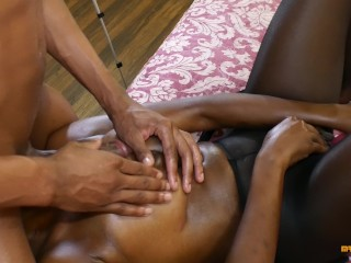 Cheating Wife Loves to get Massages and Orgasms While Husband is Away