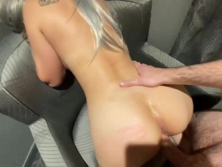 Tattooed Couple Fucks on Video for First Time