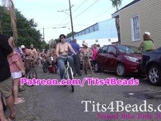 Naked Bike Ride 2018 in New Orleans