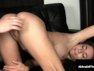 Wavy Haired Stephanie Moretti Gets Ass Fucked For First Time