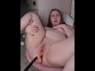 Fuck Machine Pounds My Pussy Until I Squirt Multiple Times