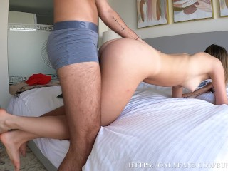 Pussy Licking With Sensually Deep Pounding! She Blowing Me And Spread Her Legs!
