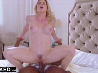 BLACKED -  This milf was tired of waiting around for her husband