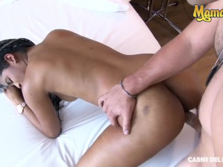 Carne Del Mercado - Sexy Colombiana Babe Shows Off Her Huge Ass